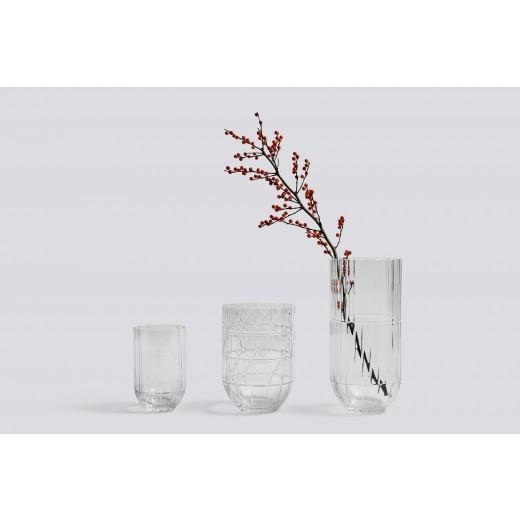 Hay Colour Vase Transperant medium-31