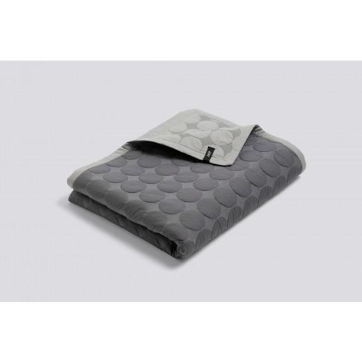 Hay Mega Dot tæppe XL, Dark grey 260 cm x 260 cm-31