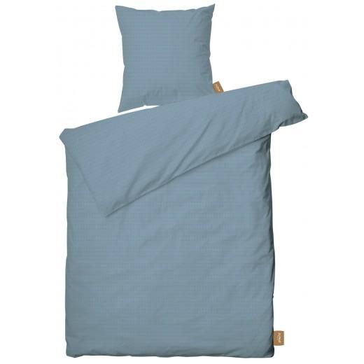 Juna Sengesæt, cube, dusty blue, 140x220-34