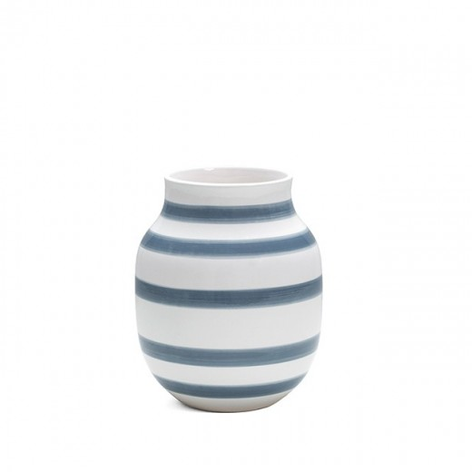 Kähler Omaggio Vase Mellem (Lysblå)-31