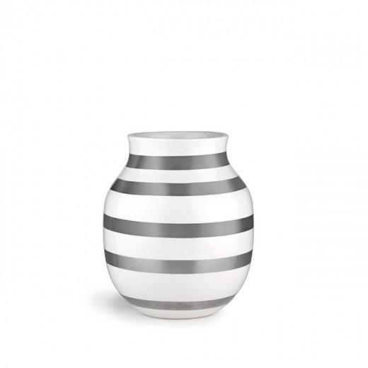 Kähler Omaggio vase Mellem (Sølv)-31