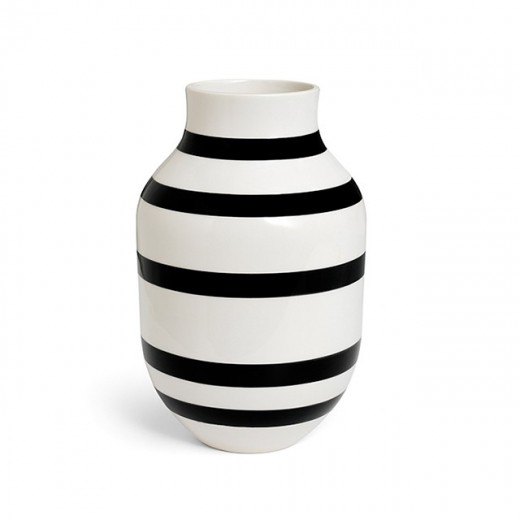 Kähler Omaggio Vase Stor (Sort)-31