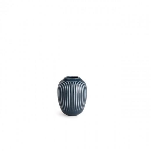 Kähler Hammershøi, Vase Mini (Antracitgrå)-31
