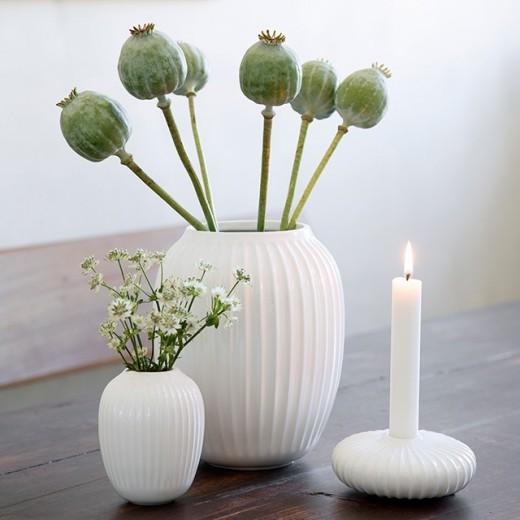 Kähler Hammershøi, Vase Mini (Hvid)-31
