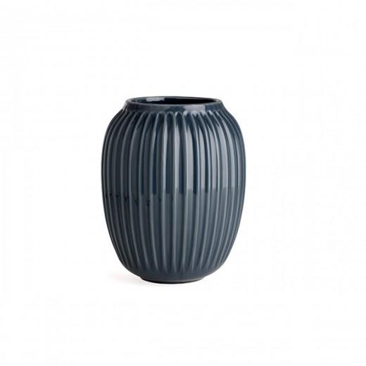 Kähler HH, Vase (mellem) Antracit grå-31