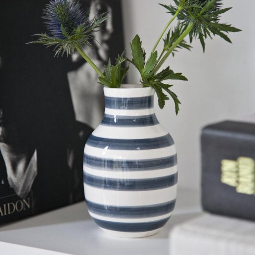Kähler Omaggio vase lille (Granitgrå)-31