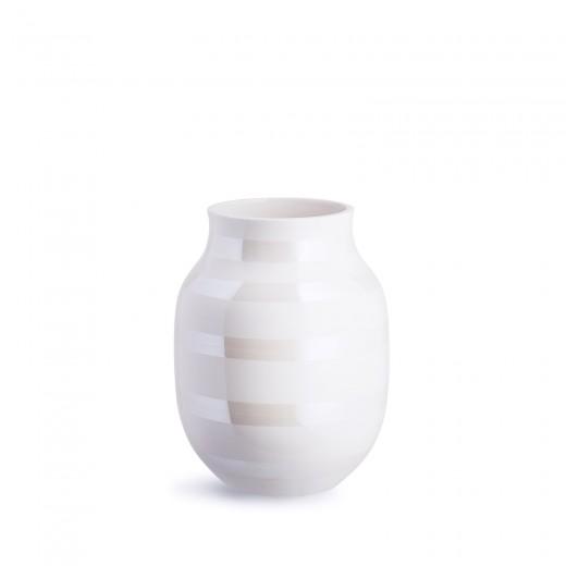 Kähler Omaggio Vase Mellem (Perlemor)-31