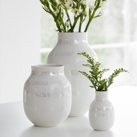 Kähler Omaggio Vase Stor (Perlemor)-31