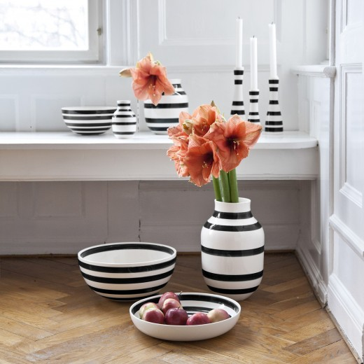 Kähler Omaggio, Vase Stor (Sort)-31