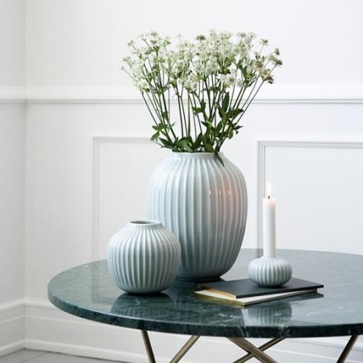 Kähler Hammershøi Vase (stor) Mintgrøn-31