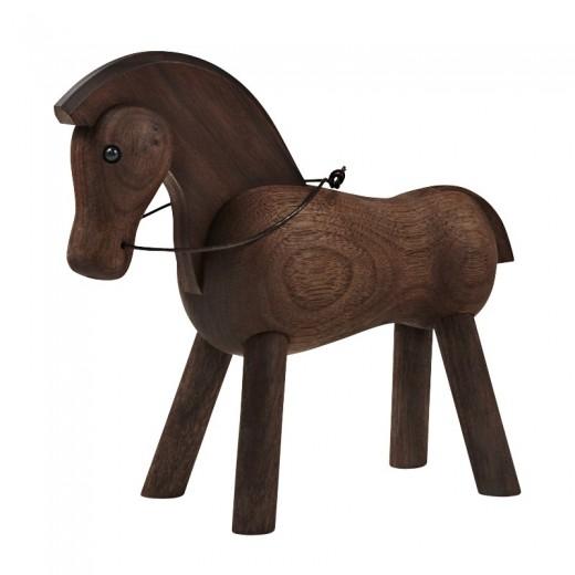 Kay Bojesen Hest mørk træ-31