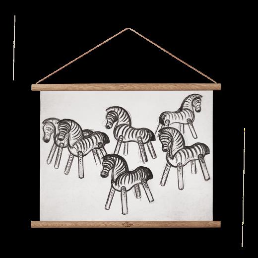 Kay Bojesen Zebra stregtegning lille-31