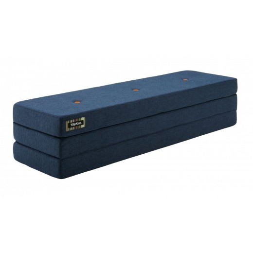 By Klipklap KK 3fold XL (Dark Blue 90 w. orange buttons). Varierende levering-31