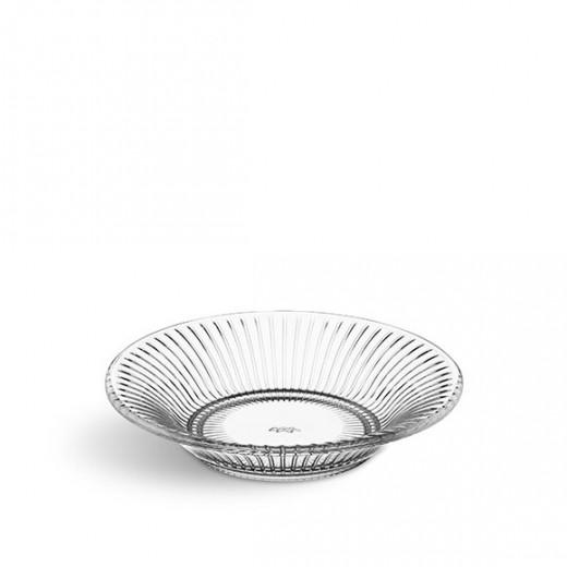Kähler HH, glastallerken, klar, Ø17-31