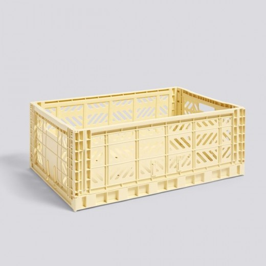 Flot Hay - Colour Crate - Light Yellow - Large - Multifunktionel FP-38