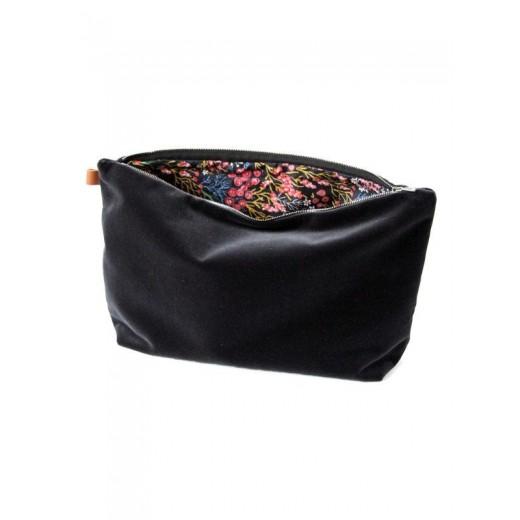 Semibasic Lush pocket Dusty Black 34x20 cm.-31