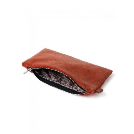 Semibasic Lush pocket Coral red 18x10 cm.-31