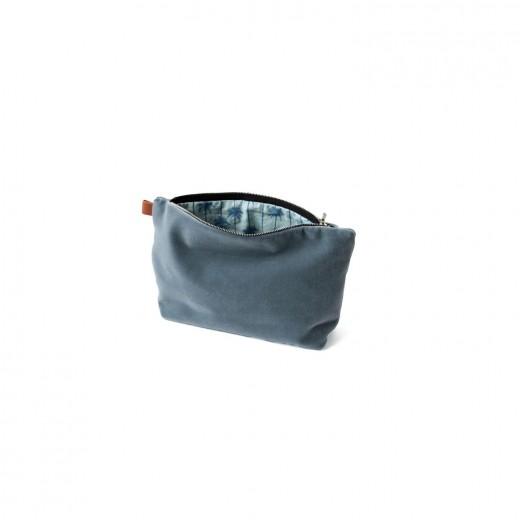 Semibasic Lush pocket Denim blue 24x14 cm.-31