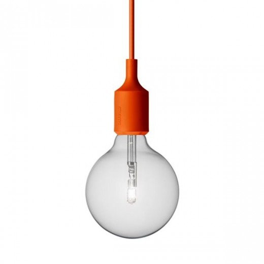 Muuto E27 lampe Orange-31