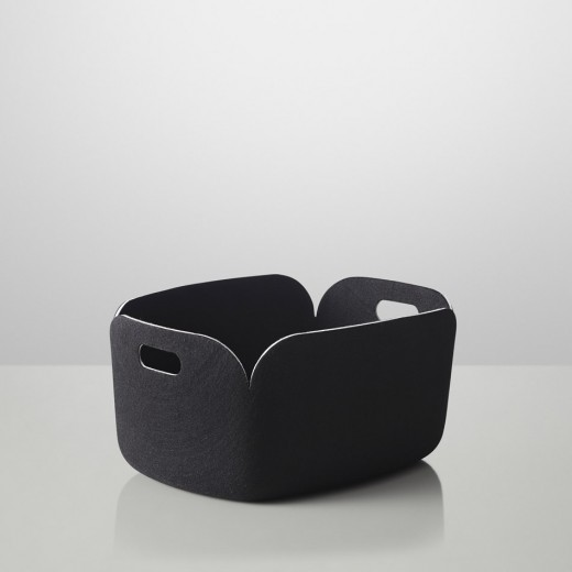 Muuto Restore Basket Black-31
