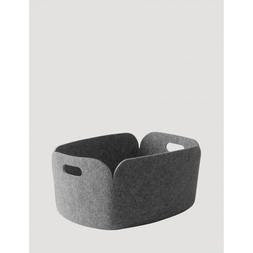 Muuto Restore Basket Grey-31