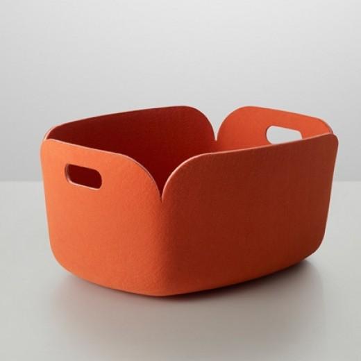 Muuto Restore Basket orange-31