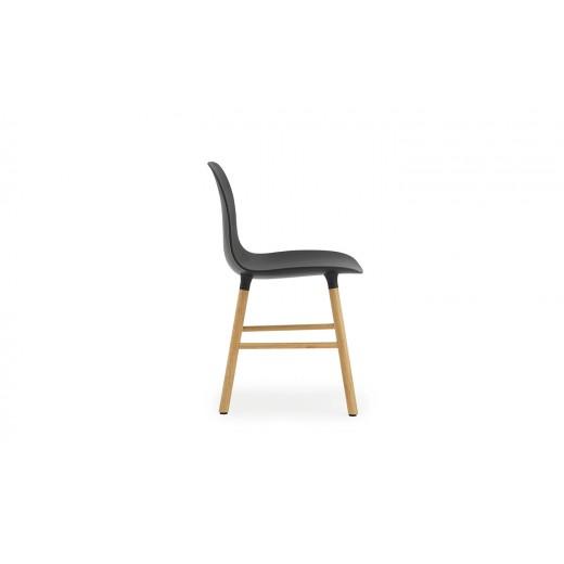Normann Cph Form Chair Black/oak Varierende levering-31