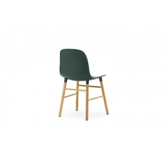Normann Cph Form Chair green/oak varierende levering-33