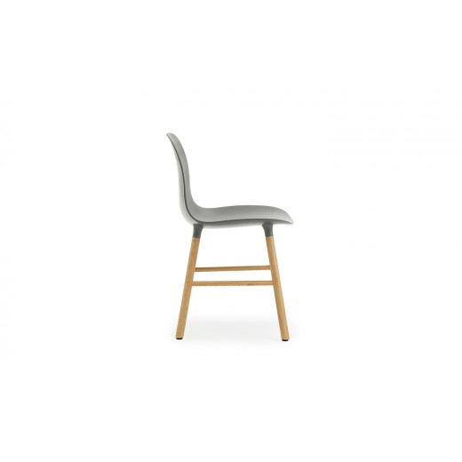 Normann Cph Form Chair Oak grey varierende levering-32