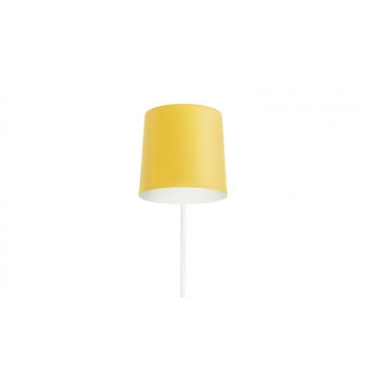 Normann Cph Rise Wall Lamp Yellow-31
