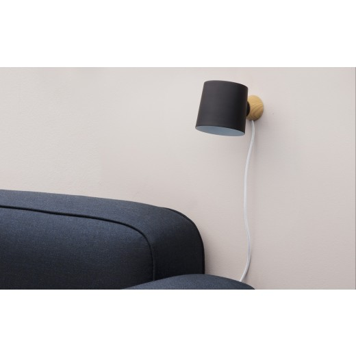 Normann Cph Rise Wall Lamp Black-31