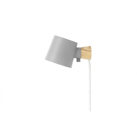 Normann Cph Rise Wall Lamp Grey-31