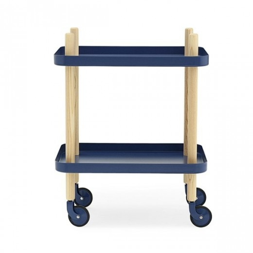 Normann Block Table dark blue-31