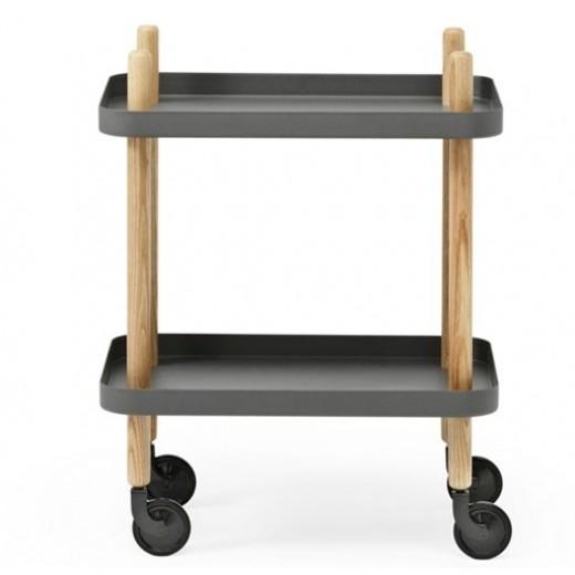 Normann Block Table dark grey-31