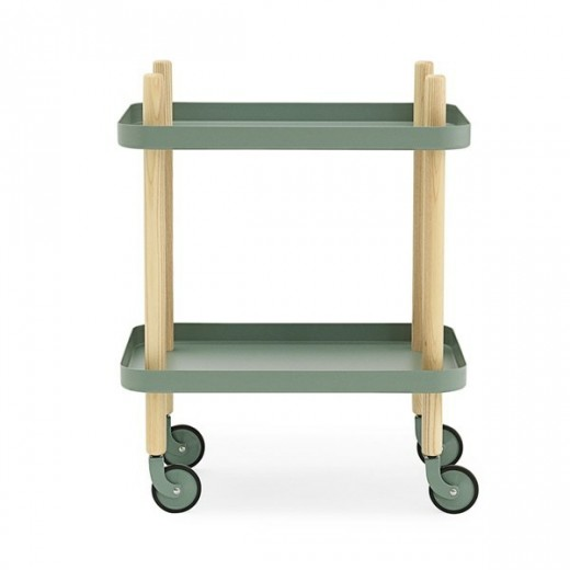 Normann Block Table dusty green-31
