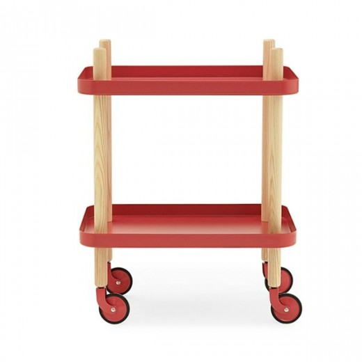 Normann Block Table red-31