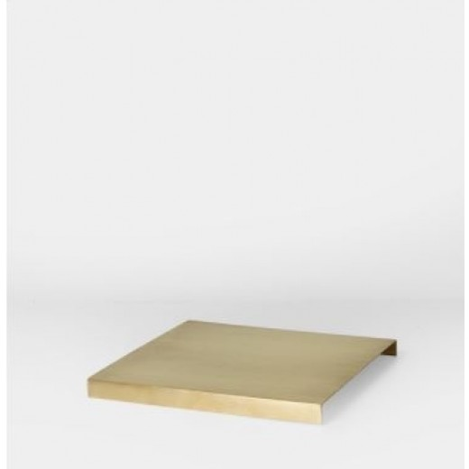 Ferm Living Brass Tray for plant box Messing-31