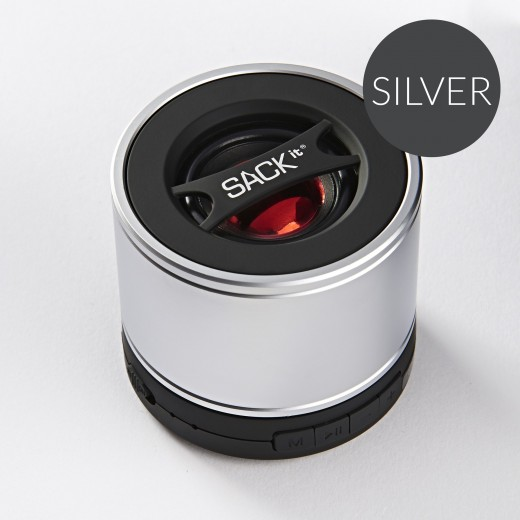 SACK it WOOFit, Bluetooth Silver-31