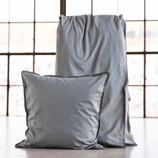 Semibasic Dobbelt bedlinen grey/grey-31