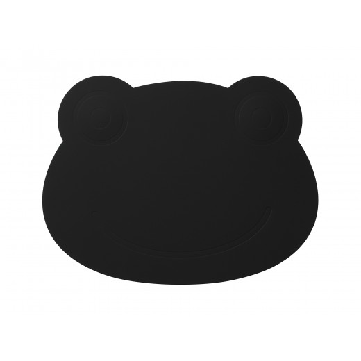 LindDNA Frog Table mat Softbuck (Black)-31