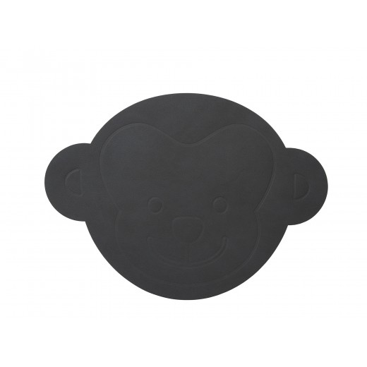 LindDNA Monkey Table mat Nupo (Anthracite)-31