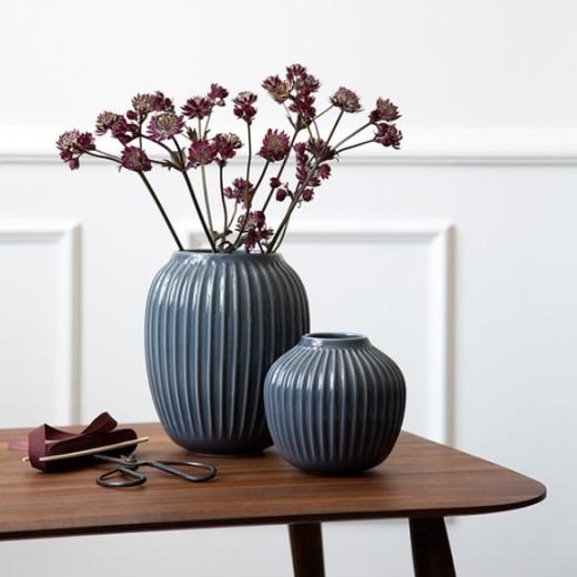 Kähler Hammershøi vase (lille) Antracit grå-31
