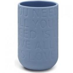 Kähler Lovesong Vase Indigo H300-20