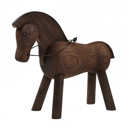 Kay Bojesen Hest mørk træ-20