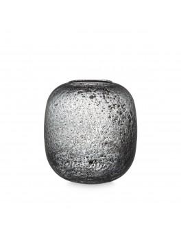 H Skjalm P Ellie Vase H20 cm Smoked glass-20