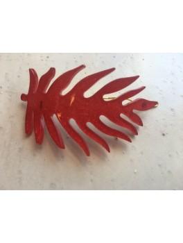 Pico Blad spænde Rød glimmer-20