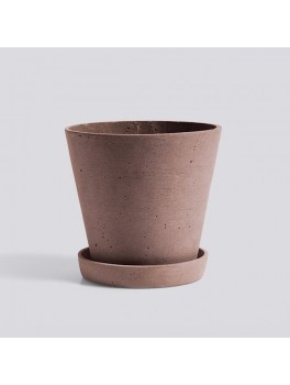Hay Flowerpot, Large, Terracotta-20