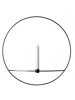 Menu Pov Circle Candleholder Black Large-20