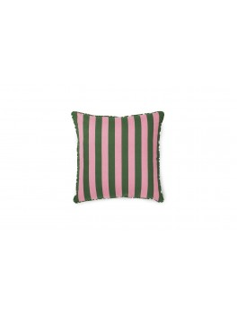 Normann Cph Posh Cushion Keep It Simple, Dark rose/dark green-20