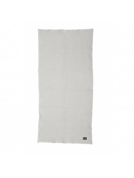 Ferm Living Organic Bath Towel, light grey, 70x140 cm.-20